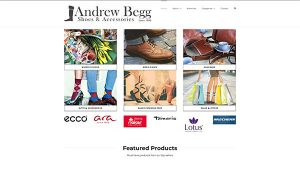 Andrew Begg - Website Design - Inverness